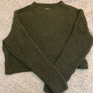 Charlotte Russe Cropped Sweater